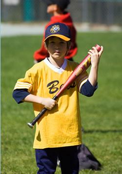 Max at baseball