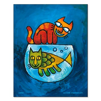 catfish poster 20x16