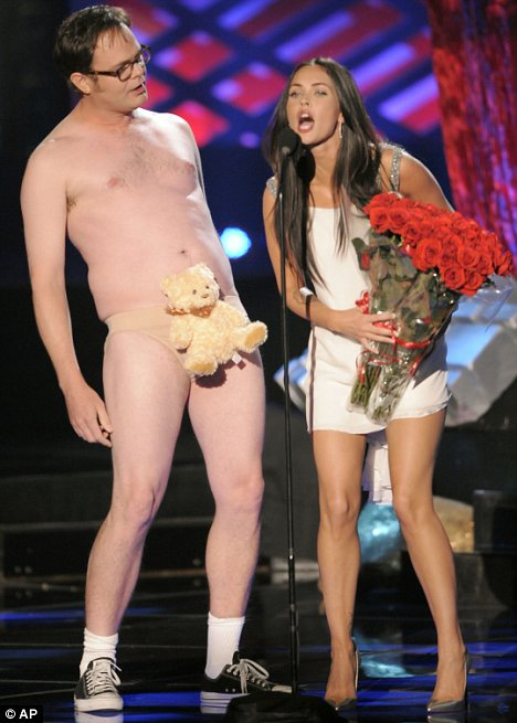 rainn-wilson-megan-fox