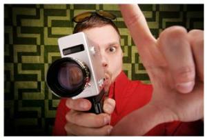 video camera guy