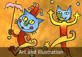 art and illustration - children's books, magazines, products