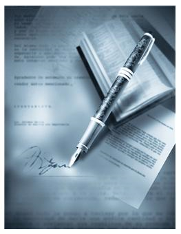 signed screenplay purchase contract