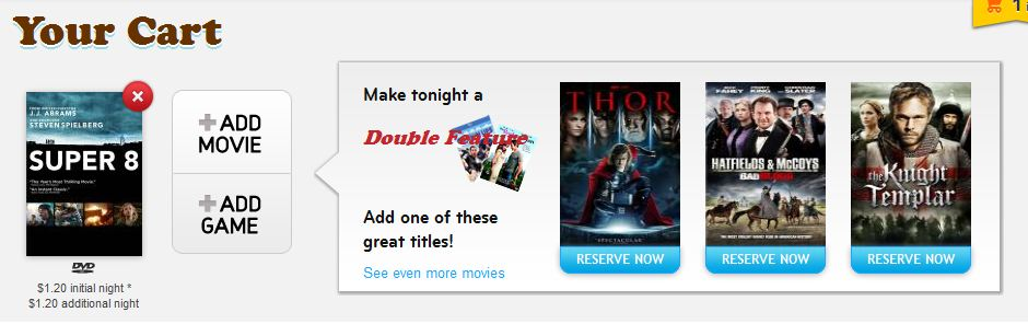 redbox double feature