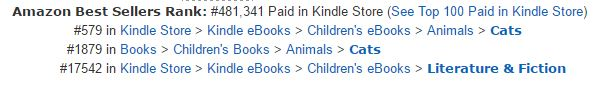 amazon self published book rankings