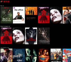 NetFlix compare feature 2