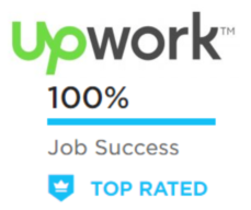 Top Rated Upwork Freelancer